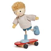 【美國Tender Leaf Toys】愛德華與滑板(娃娃屋配件)