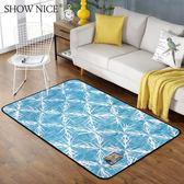 歐式花紋地毯簡約現代北歐臥室客廳茶幾沙發滿鋪家用床邊毯長方形·IfashionIGO