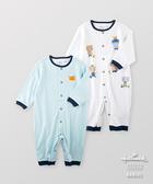 Hallmark Babies 男嬰春夏長絨棉小熊長袖連身衣(兩件裝) HE1-N05-06-BB-NB