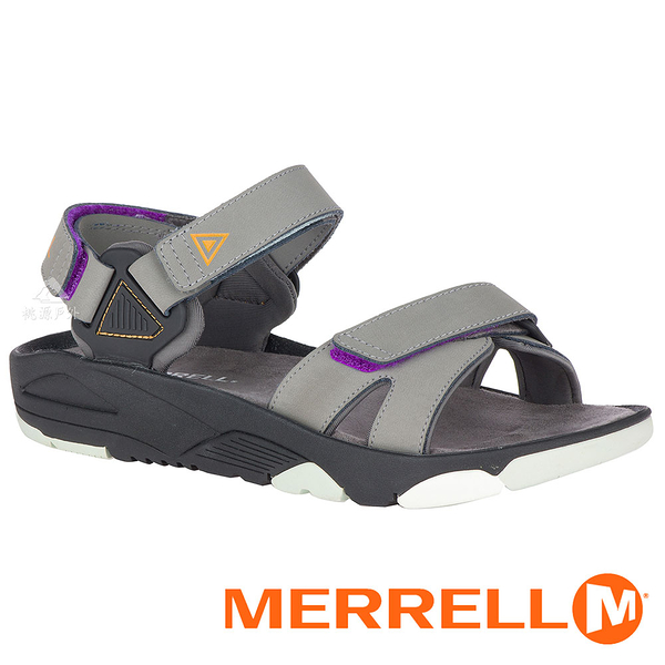 【MERRELL 美國】BELIZE CONVERT 女織帶涼鞋『鐵灰』000808 功能鞋.多功能鞋.休閒鞋.健行鞋