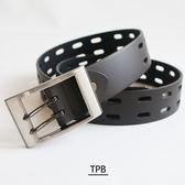[潮流堂] PEB01加長型 / 最大可至48腰 / 方框沖孔腰帶皮帶