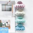 【DJB4109】shiny藍格子-簡約糖果色亞克力髮夾