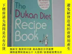 二手書博民逛書店The罕見Dukan Diet Recipe Book( )Y1