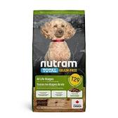 寵物家族-[輸入NT99享9折]紐頓Nutram-T29無穀迷你犬 羊肉2KG