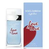 DOLCE & GABBANA 示愛宣言限量版女性淡香水 100ml Vivo薇朵