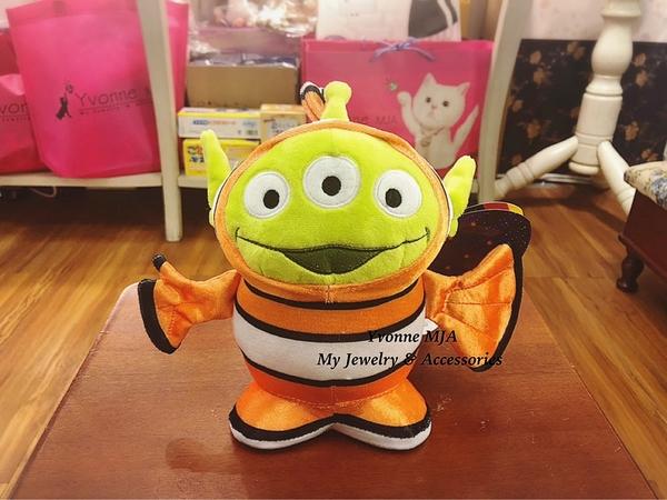 Yvonne MJA* 美國迪士尼Disney 限定正品 玩具總動員 三眼怪 尼莫造型 限量版毛絨 娃娃