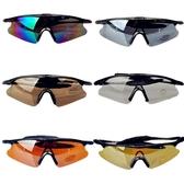 戶外騎行眼鏡偏光太陽鏡防彈防風眼鏡 全館免運