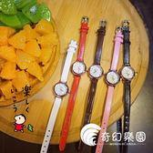 手錶-韓版小巧迷你氣質女生皮革表帶森系復古經典小表盤小清新文藝手表-奇幻樂園