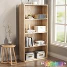 實木兒童書架桌上學生小書架創意桌面書架多層收納架書櫃飄窗架 2021新款書架