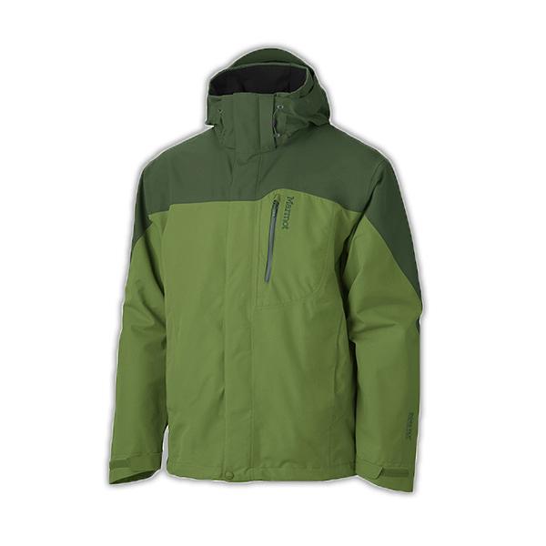 [Marmot] Palisades FL GTX (男) 二件式外套 青椒/深綠 (M30420-42722)