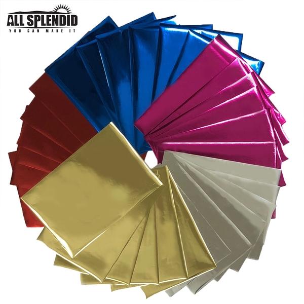 【All Splendid】信封 繪畫 製圖 皮革 紅包 燙金專用 多色燙金紙 (混色30入)