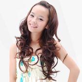 假髮(半頂.長髮)-時尚成熟大波浪捲髮女假髮3色73em74【時尚巴黎】
