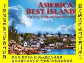 二手書博民逛書店AMERICA`S罕見BEST ISLANDS美國最好的島嶼 英文版地理旅遊攝影集Y256883 攝影