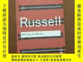 全新書博民逛書店Marriageand Morals(婚姻與道德)英文原版Y53