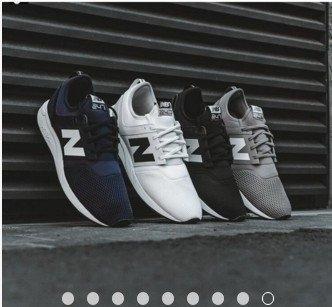 New Balance Lifestyle MRL247WB 247白灰藍粉黑慢跑鞋韓風孔孝真 網布男女情侶運動鞋
