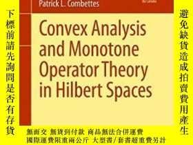 二手書博民逛書店Convex罕見Analysis And Monotone Operator Theory In Hilbert