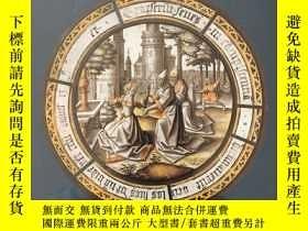 二手書博民逛書店The罕見luminous image:painted glass roundels in the lowland