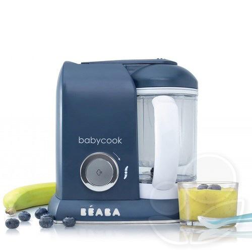 ★BEABA BabyCook Solo 嬰幼兒副食品調理機(深藍)【佳兒園婦幼館】