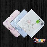 手被巾 日本製女士手帕刺繡棉質大手絹吸汗全棉雙層厚款嘉德利壓蘭花 3色
