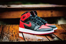 ISNEAKERS Air Jordan 1 Retro High OG 禁穿 黑紅 復刻 櫻木 男鞋 555088-001