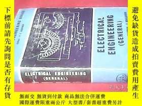 二手書博民逛書店ELECTRICAL罕見ENGINEERING 英文原版精裝《電