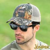 棒球帽子-抗UV迷彩透氣遮陽網帽-J7542 JUNIPER朱尼博