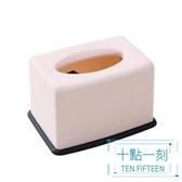 紙巾盒 歐式塑料抽紙盒創意客廳家用紙巾盒簡約可愛餐巾紙餐廳家居卷紙筒