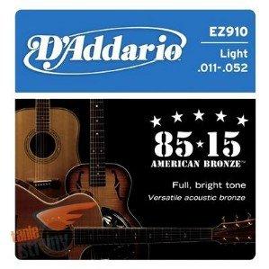 【缺貨】DAddario EZ910民謠吉他弦(11-52)【DAddario/進口弦/EZ-910】