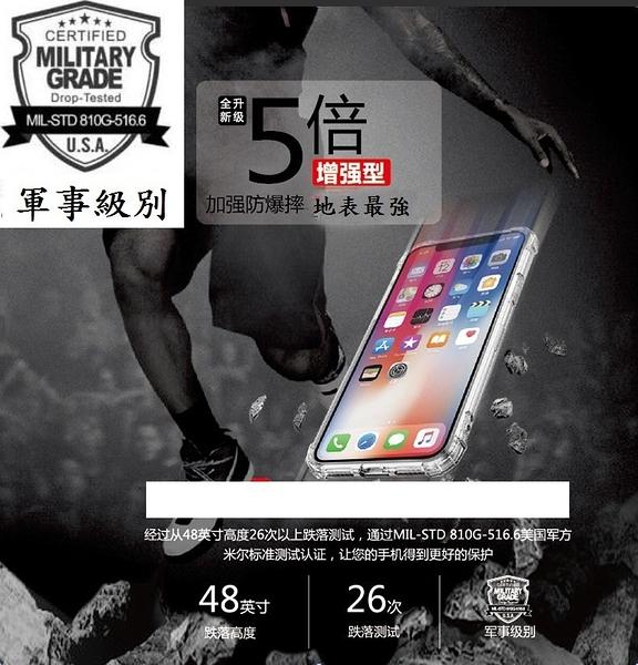 【五倍強化】紅米Note 8 Pro 6.53吋 四角 抗摔TPU套 防摔 透明殼 軟殼