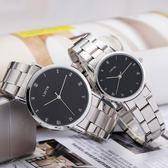 時尚韓國韓版手錶女學生簡約潮流皮帶男錶防水石英錶情侶手錶 檸檬衣捨