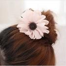 ►純色蕾絲大花朵髮圈 髮繩 髮飾 頭繩 髮夾 邊夾 【B5030】