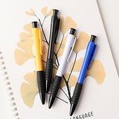 按壓油性筆 原子筆 圓珠筆 油性筆 文具 按壓式 藍筆 0.7mm 輕量 按壓原子筆(1支)【H027】生活家精品