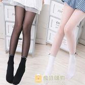 一件85折-夏季薄款兒童絲襪女童連褲襪寶寶打底襪防勾絲水晶襪子白色防蚊襪