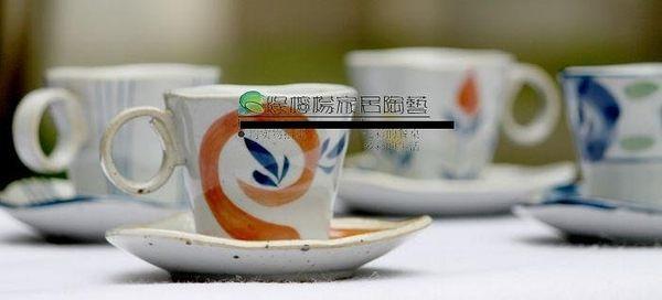 創意古雅杯咖啡杯套装