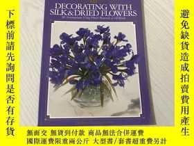 二手書博民逛書店decorating罕見with silk & dried flowersY20850 看圖 看圖 出版19