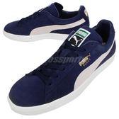 Puma 休閒鞋 Suede Classic Navy 深藍 藍 白 麂皮 基本款 運動鞋 男鞋 女鞋【PUMP306】 35656851