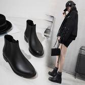 雨鞋 切爾西雨鞋女短筒防水成人秋冬時尚雨靴套鞋防滑水靴學生膠鞋水鞋