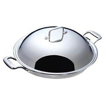 阿邦小舖【美國Paruah帕路亞】七層鋼原味健康炒鍋- SK3600 單柄的炒鍋 來電預定再送現金