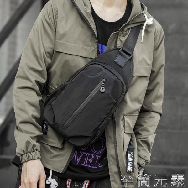 斜背包 日系休閒運動胸包男士包包挎包潮流工裝斜背包男單肩包斜背包
