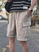 短褲 夏季男士褲子日繫工裝短褲韓版潮流休閒褲寬鬆五分褲 瑪麗蘇精品鞋包