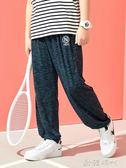 男童防蚊褲薄款夏季奕時代胖兒童裝中大童休閒燈籠長褲子  ◣歐韓時代◥