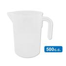 力銘量杯500cc 刻度量杯 透明量杯 烘培 尖嘴塑膠量杯 【台灣製】