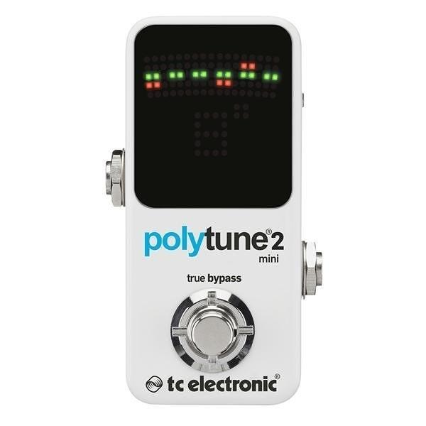 ☆ 唐尼樂器︵☆ TC Electronic PolyTune 2 Mini 電吉他 Bass 單顆 迷你 調音 效果器