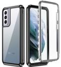 戶外運動三星S21 Ultra手機殼 SamSung S21手機套創意 防摔透明三星S21保護殼 簡約Galaxy S21+保護套