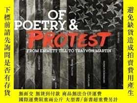二手書博民逛書店Of罕見Poetry And Protest: From Emm