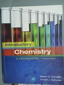 【書寶二手書T1/大學理工醫_PJK】Introductory Chemistry A Foundation_Zumdahl,DeCoste