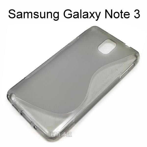 Samsung Galaxy Note 3 N900 N9000 N9005 TPU清水套 (灰)