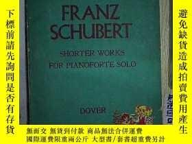 二手書博民逛書店FRANZ罕見SCHUBERT SHORTER WORKS FO