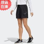 【現貨】ADIDAS FUTURE 女裝 短褲 休閒 慢跑 口袋 黑【運動世界】GT6829
