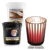 YANKEE CANDLE 香氛蠟燭-仲夏之夜+天使(49g)X2+祈禱燭杯